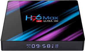 Смарт ТВ приставка Enybox H96 MAX 4/64ГБ tv box android для телевизора на андроиде