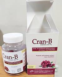 Gran-B Granberry Клюква 300 мг, - способствуют здоровью мочевыводящих путей, Бангладеш, 30 мягких капсул