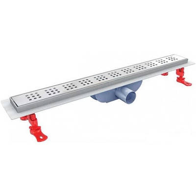 Трап для душа  90см сухой затвор корпус и решетка из нержавейки VLD-600335