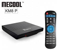 Смарт ТВ приставка Mecool Km8 P 1/8GB tv box android для телевизора на андроиде
