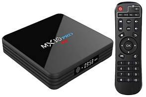 Смарт ТВ приставка MX10 Pro TV Box Smart TV Rockchip 3328 4/32Gb 4K Android 7.1 tv box android для телевизора