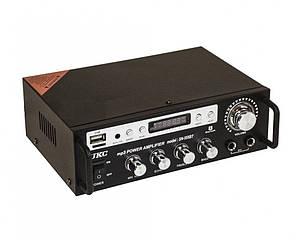 Усилитель звука Bluetooth радио UKC SN 555 BT Black (007544)