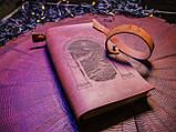 Кожаный блокнот, фото 4