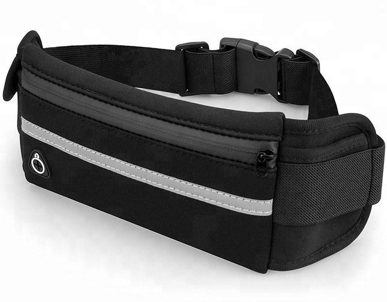 Спортивна сумка на пояс iRun вологостійка Чорний (HbP050304)