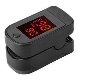 Пульсоксиметр Pulse oximeter Черный (Pulseoximeter)