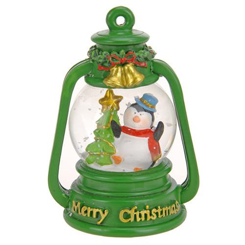Водяной снежный шар Фонарик Penguin
