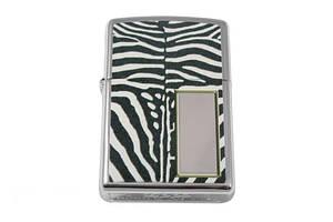 Зажигалка Zippo Zebra Print Silver (28046)