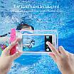 Водонепроникний чохол EasyWay для фото і відео під водою до 6.5 дюймів Рожевий (HbP050345), фото 4