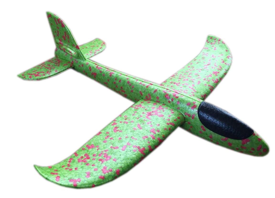 Ручной метательный планер SkyPlane 37 см Зеленый (HbP050508)