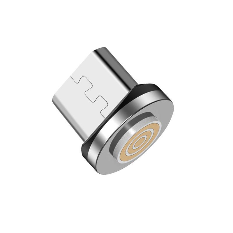 Конектор магнітний Greenport M12A3 microUSB для магнітного кабелю зарядки і передачі даних (1483566)