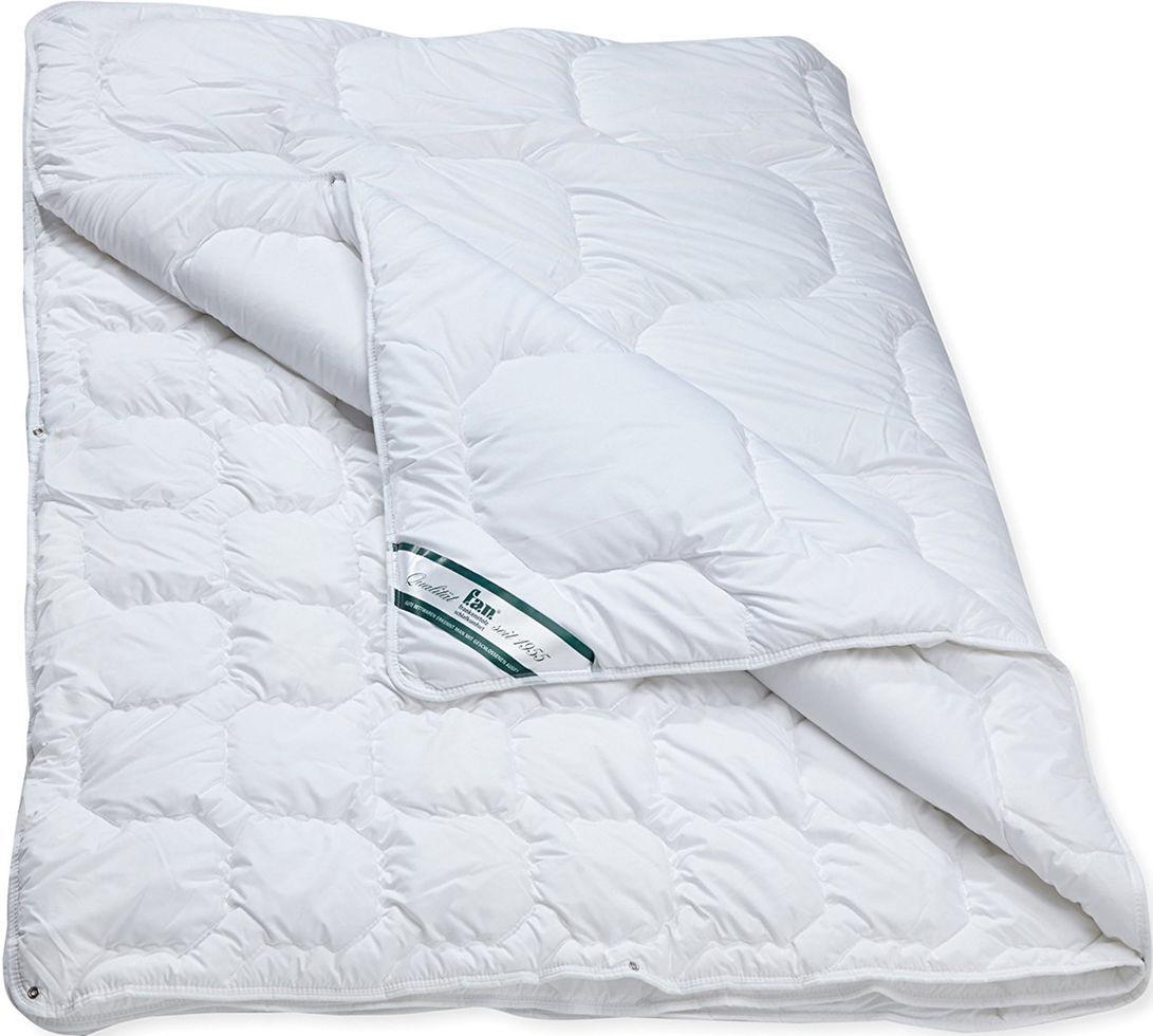 Антиаллергенное одеяло F. A. N. Kansas 155x220 см Белое (020)