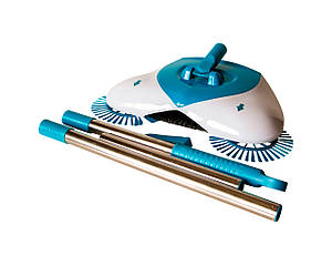 Веник-щетка Hurricane Spin Broom Бело-голубой (2063)