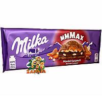 Шоколад молочный Milka mmMAX Mandel Karamell