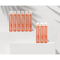 Выравнивающий смягчающий филлер для волос с аминокислотами шелка FarmStay Derma Cube Amino Clinic Hair, 13 ml.