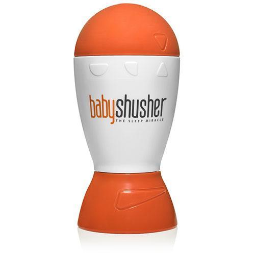 Генератор білого шуму pNeo Babyshusher для заспокоювання новонароджених Білий з оранжевим (1027-02)