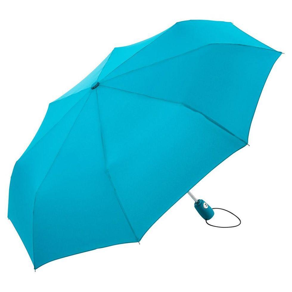 Зонт складной Fare 5460 Бирюзовый (1028)