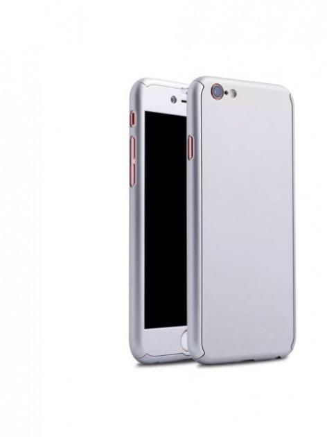 Чехол MakeF + стекло на iPhone 6 plus/6s plus Grey (HbP050421)