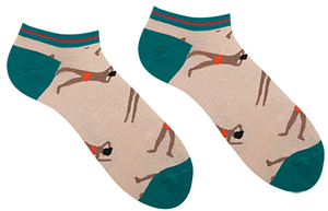 Женские короткие носки Sammy Icon Bari Short 36-40 Кремовые (009568)