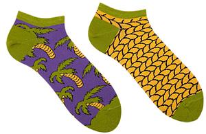 Носки женские короткие Sammy Icon Vai Bay Short 36-40 Цветные (009554)