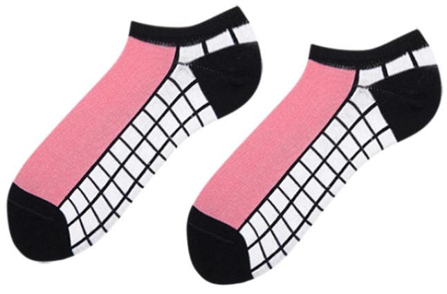 Носки женские короткие Sammy Icon Naples Short 36-40 Черно-белые (009566)