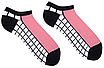 Шкарпетки жіночі короткі Sammy Icon Naples Short 36-40 Чорно-білі (009566), фото 2
