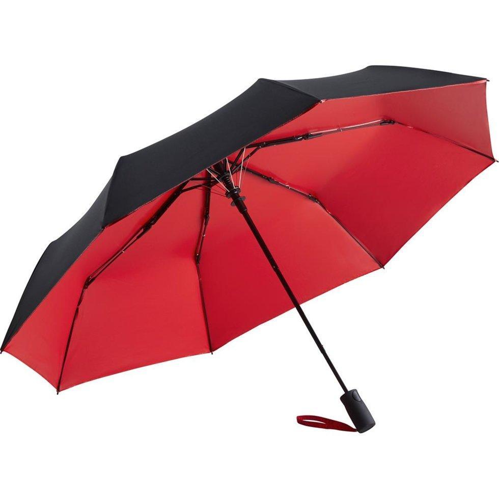 Зонт складной Fare 5529 Черно-красный (1141)