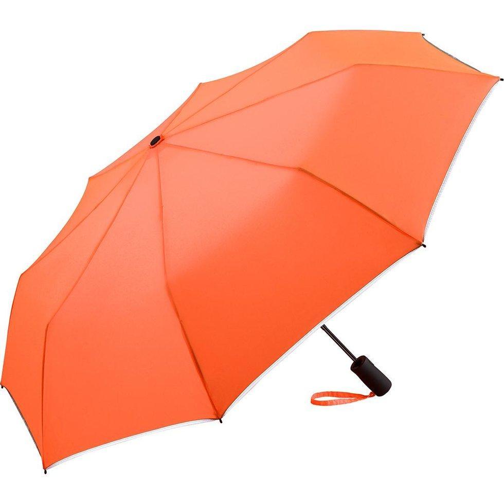 Зонт складаний Fare 5547 неоновий Помаранчевий (300)