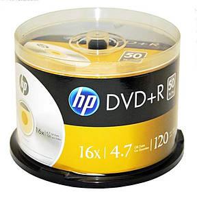 DVD+R HP (69319 /DRE00026-3) 4.7GB 16x, шпиндель, 50 шт