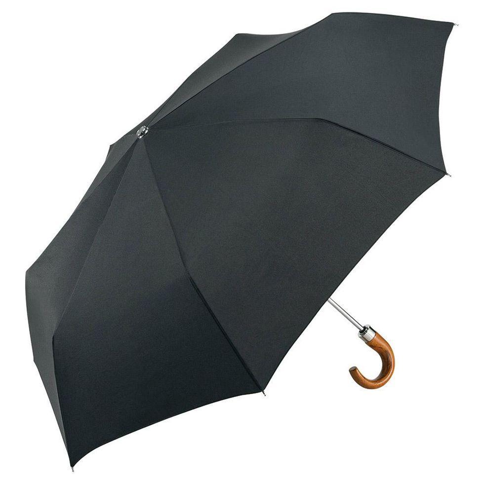 Зонт складаний Fare 5675 з тефлоновим покриттям Чорний (843)