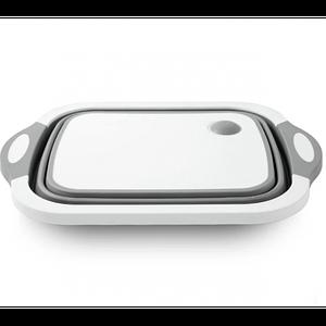 Складная разделочная доска Cut Board 2 в 1 для мытья и резки овощей с сливным отверстием (549345325)