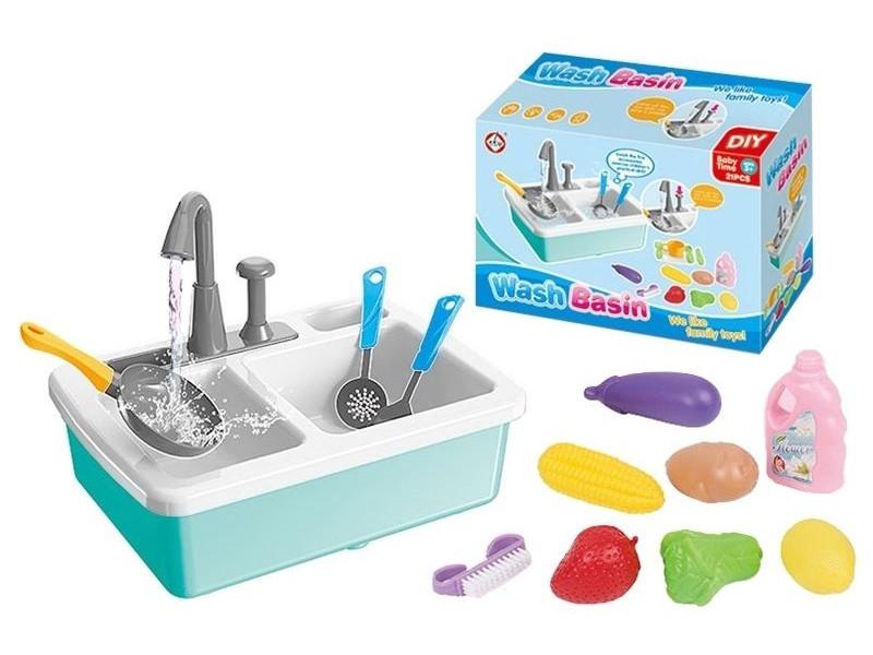 """Игровой набор """"Кухонная раковина с настоящей водой"""" (870348935)"""