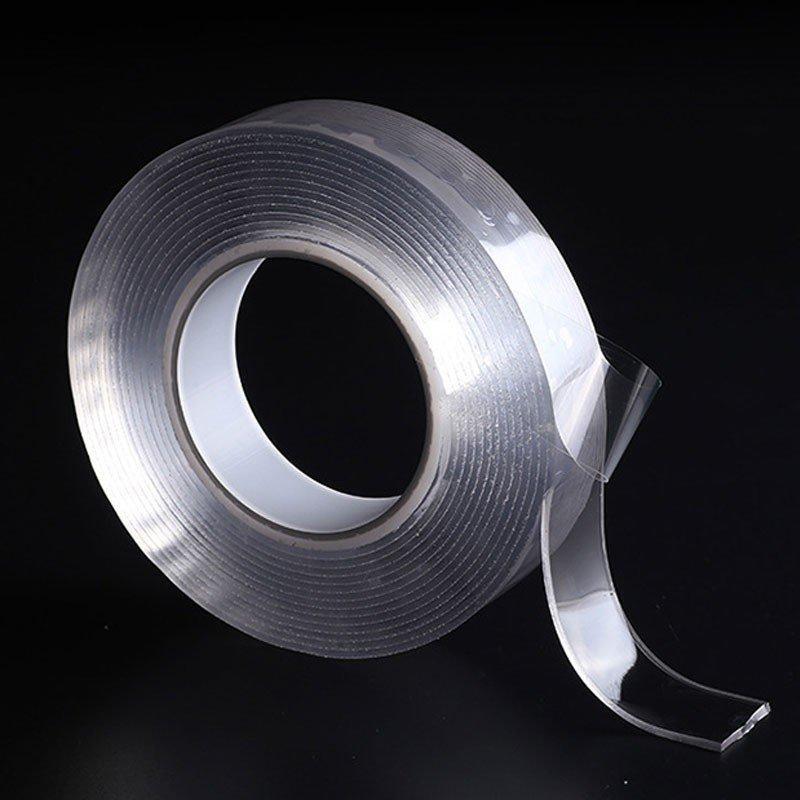 Многоразовая сверхсильная клейкая лента Ivy Grip Tape 1 м Прозрачная (HbP654221)