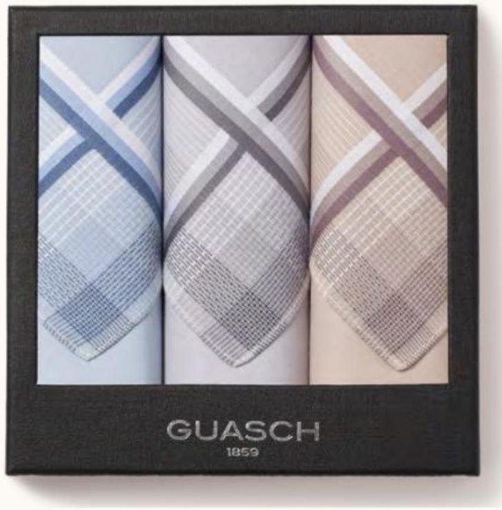 Комплект мужских носовых платков Guasch Apolo 95-06 (723)