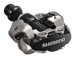 Педали контактные Shimano PD-M540, SPD, черный, Черный