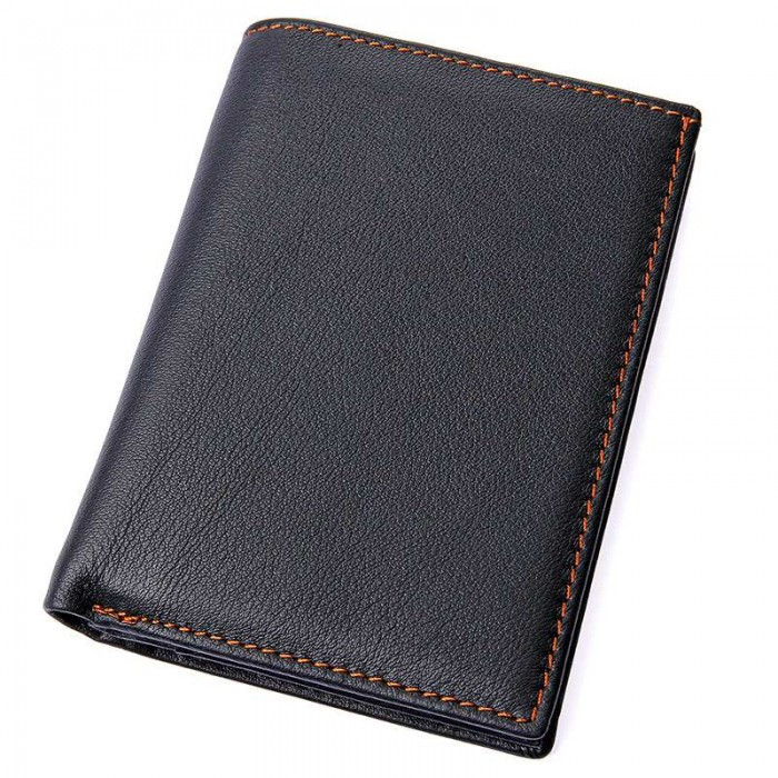 Мужской кошелек GMD Черный (8153A)