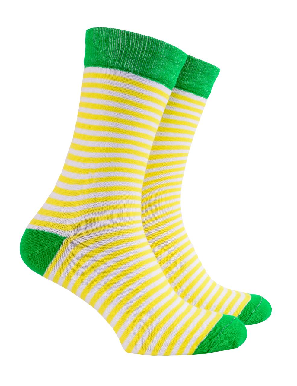 Шкарпетки жіночі Mushka Limono SWY001 36-39 Смужка (009478)