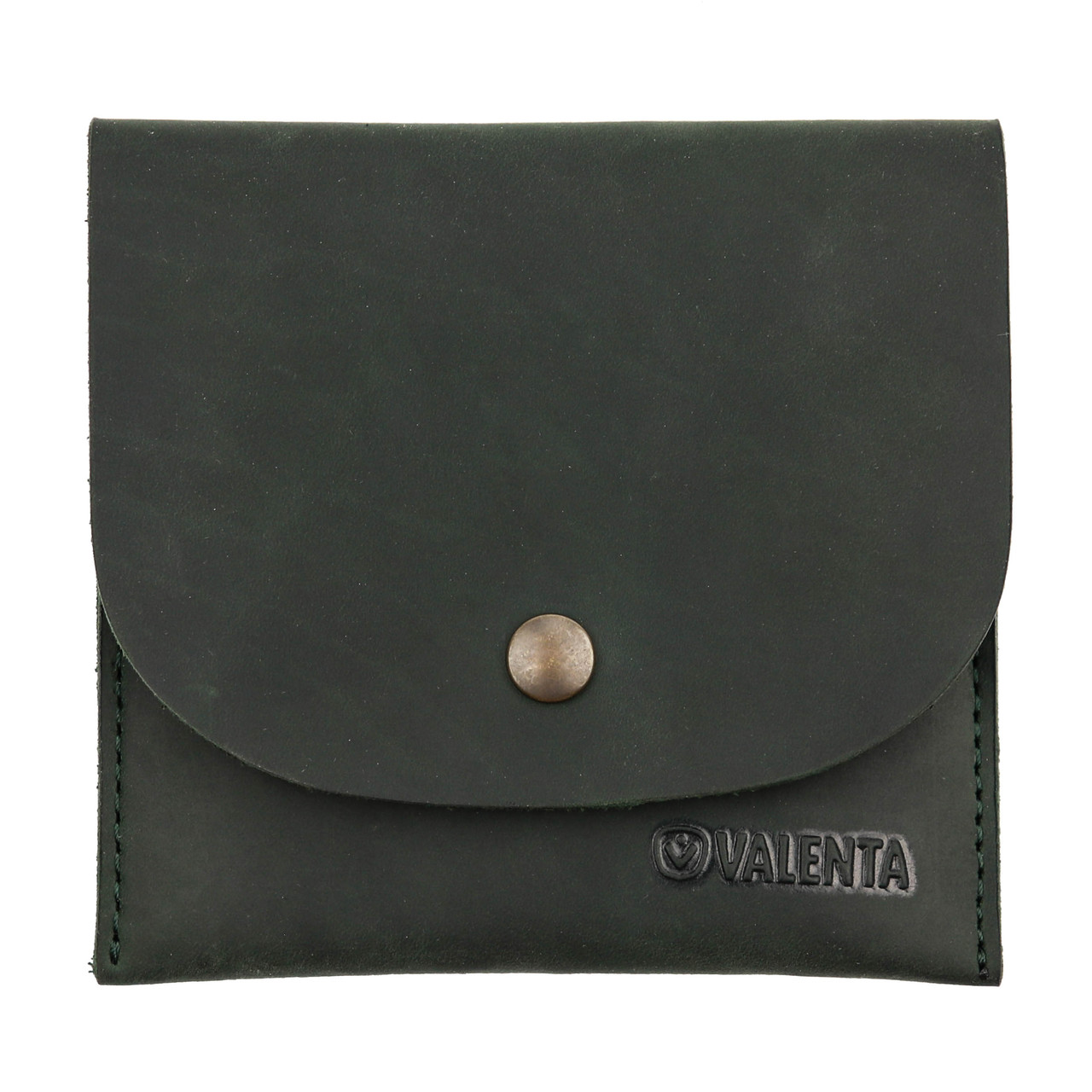 Маленький кошелек Valenta Encore Темно-зеленый (ХР23042)