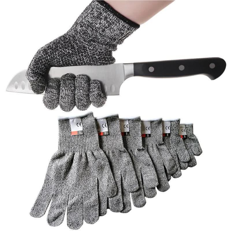 Перчатки Sky с защитой от порезов Серый (57840001)