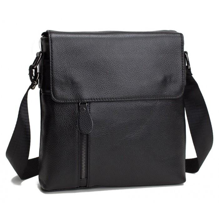 Мужской мессенджер Tiding Bag Черный (A25-238-1A)