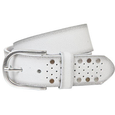 Ремень женский The art of belt 40135 Белый (1151)