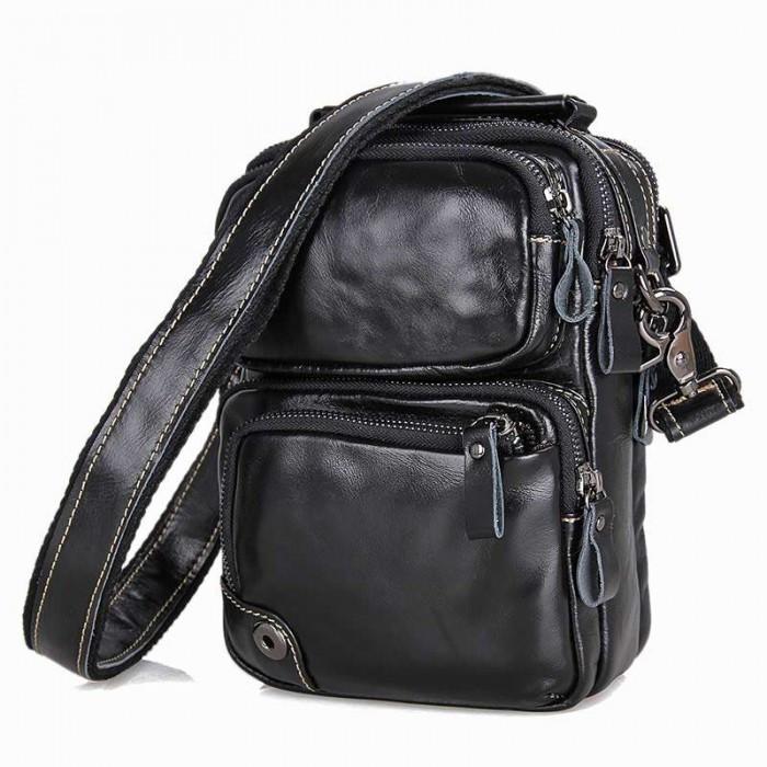 Мужская сумка GMD Черный (1010A)