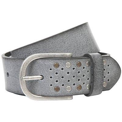 Ремень женский Lindenmann The art of belt 40135 Серый (1148)