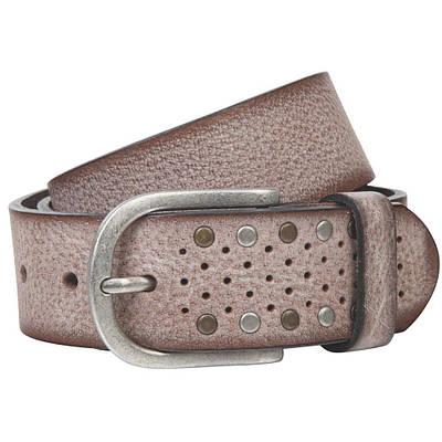 Ремень женский Lindenmann The art of belt 40135 Бежевый