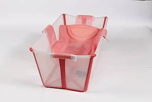Гамак TM Lindo для купания детей Розовый (P 271 роз)