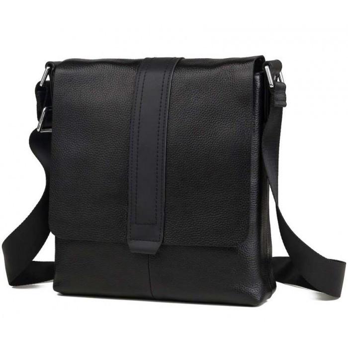 Чоловічий Месенджер Tiding Bag M2837A Чорний (M2837A)