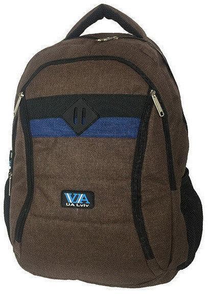 Рюкзак школьный VA R-77-97 Коричневый (010085)