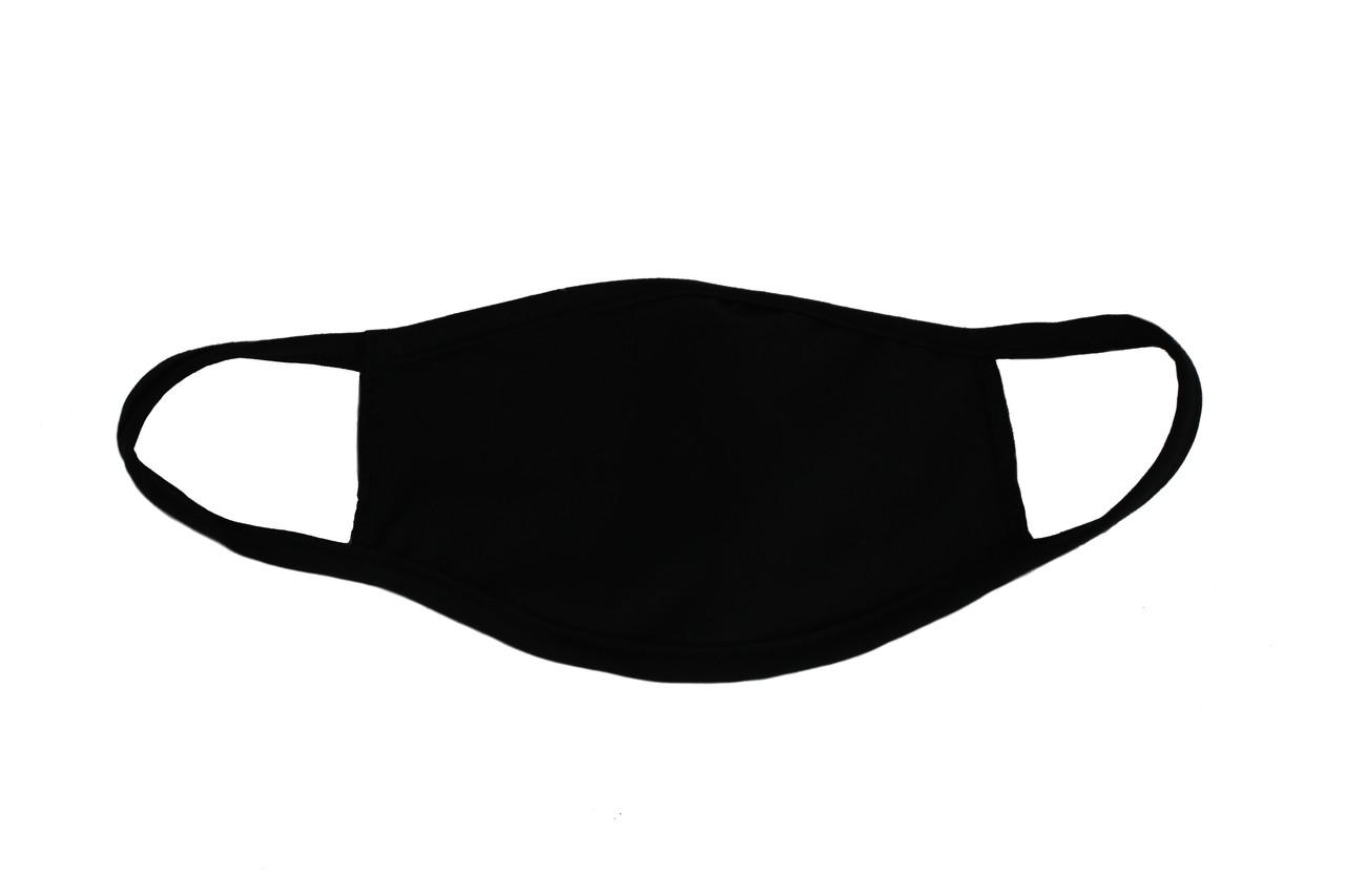 Маска багаторазова ТОВ Форвард Текс з кишенею для вставки додаткового шару 50 шт Чорна (ММ01ч-50)
