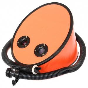 Насос для лодок надувных Аква-ЛТД 6л корпус фанера Оранжевый (220642)