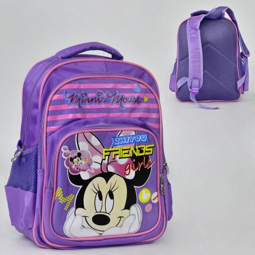 Рюкзак шкільний Kika Toys Фіолетовий (kj2025)