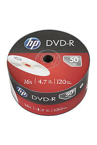 Диски HP DVD-R 4,7 GB 16x, Shrink/50